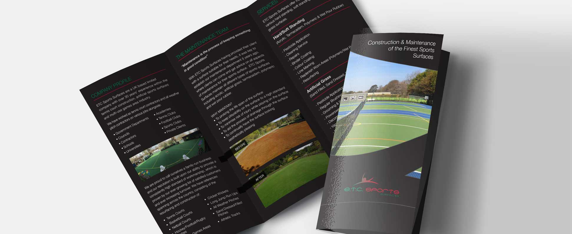 ETC Sports Surfaces Printing & Design